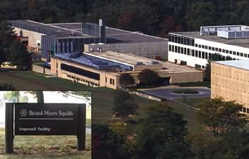 Facilities Services, Maintenance & Management for Bristol-Myers Squibb in Hopewell, New Jersey
